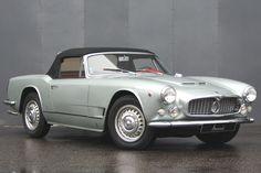 Maserati 3500 GTi Spyder Vignale ⍢ https://de.pinterest.com/robybox/maserati/