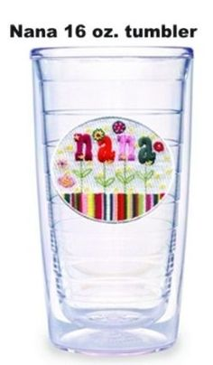 Nana Tervis Tumblers and Mugs are perfect gifts for Mother's Day, her birthday, or Christmas.  Add a sweet message to the back and a matching travel lid to make this gift something she will treasure and use all the time.