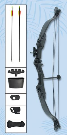 COMPOUND BOW WITH CABLE SETS