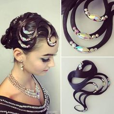 Dance Hairstyles, Hair Decorations, Professional Look, Hairspray, Hair Pieces, Dresses For Sale, Hair Color, Hair Accessories, Collections