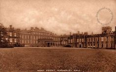 Liverpool, history, liverpool-history-l34-knowsley-west-front-knowsley-hall-c1900