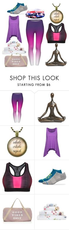 """yoga"" by selenamashell on Polyvore featuring Pier 1 Imports, Monreal, Steve Madden, Spiritual Gangster, Cath Kidston and Under Armour"