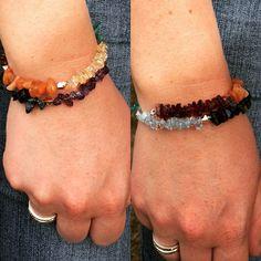 Gemstone Chakra Wrap Bracelet  By Janz Designz