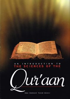 An Introduction to the Sciences of the Qu'ran by Abu Amma... https://www.amazon.com/dp/1898649324/ref=cm_sw_r_pi_dp_P4IxxbF19QJE2