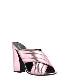 Gucci Pink Sylvia Sandal