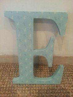 20cm mdf letter £4