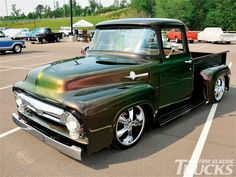 Ford F100 Supernats 1956 F100..Re-Pin..Brought to you by #HouseofIns. in #EugeneOregon