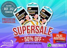 Promoción de Pilas Ref 312 solo por el mes de Agosto. Haz tu pedido YA! Domicilios en Bogotá. #SolucionesAuditivas Tel: 6110808 - Whatsapp: 300 5260573