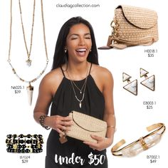 Under $50-3, enjoy any of these items as they are each priced under $50 - ClaudiaG Collection