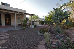 Lovely back yard from neighboring Catalina Vista house.