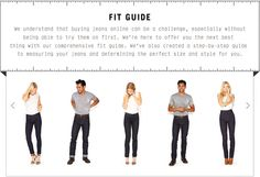 imogene & willie fit guide