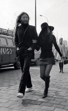 the eccentric and enduring style of YOKO ONO ... might have something to do with her hat fetish