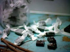 Salt Liquorice Caramels Featured On Sweets Made Simple With Hope & Greenwood