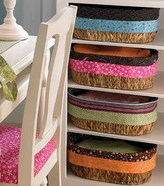 Fabric basket liners project