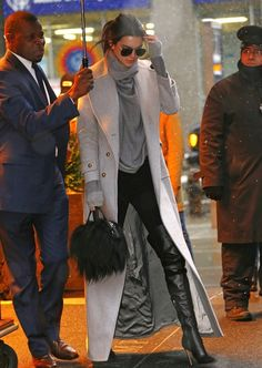 Kendall Jenner's rainy night in NYC