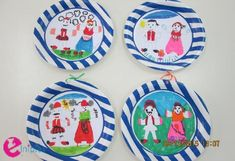 piato-25h2 28th October, 25 March, Spring Activities, Coasters, Decorative Plates, Spring Summer, Crafts, Home Decor, Education
