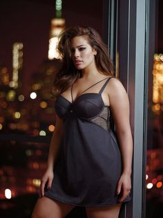 The Ashley Graham Fall 2015 lingerie Collection for Addition Elle. Geo lace, gold hardware & bondage-inspired designs....With the new Modern Boudoir, it's all about luxurious details.