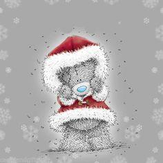 <3 Tatty Teddy <3 Tatty Teddy, Christmas Tags Printable, Christmas Clipart, Christmas Teddy Bear, Christmas Snowman, Christmas Drawing, Christmas Paintings, Teddy Bear Pictures, Blue Nose Friends
