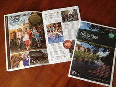 A Sample Of The Design We Created For The Visit Lancashire Guide