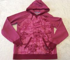 Under Armour Hoodie Sweatshirt Pink Xl Womens Graphic Print Performance Pullover #UnderArmour #Hoodie