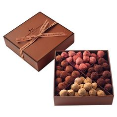 Truffle Assortment - On line boutique - La Maison du chocolat ❤ liked on Polyvore featuring food and food and drink