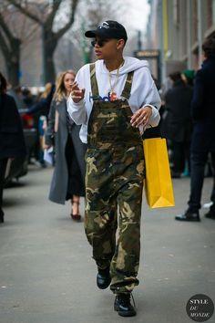 Slick woods by styledumonde street style fashion photography Street Style 2017, Urban Street Style, Casual Street Style, Street Styles, Urban Street Wear, New Fashion, Trendy Fashion, Fashion Outfits, Fashion Trends