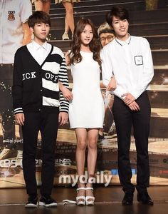 140707 KBS High School Love on Press Conference with @Ksaeron_ and @lee_yeolie pic.twitter.com/jRmGq3QRGc