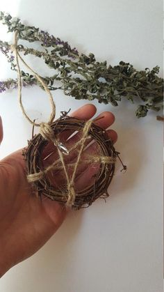 Pentagram wreath protection home Talisman Rustic Pagan Wiccan Decor, Wiccan Altar, Wiccan Crafts, Magick, Witchcraft, Herbal Witch, Yule Decorations, Manualidades Halloween, Pagan Witch