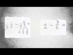 Breuken aftrekken (groep 7 en 8) - YouTube