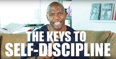 Avoiding temptation, eating healthy and regularly - these are the first two steps to self-disciplining yourself to achieve goals, whether that's overcoming addiction or going to the gym and getting in shape! Remember, discipline isn't punishment - it's TRAINING.