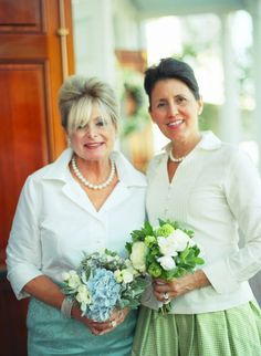 Mothers of bride & groom