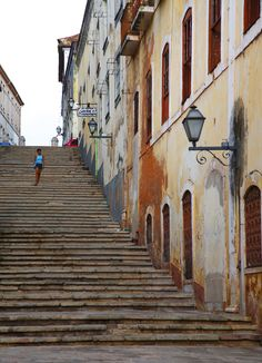 Historic Center of São Luís, Brazil Where Did It Go, Just Go, Places To Travel, Places To See, Paraiba, Stairways, Small Towns, South America, The Good Place