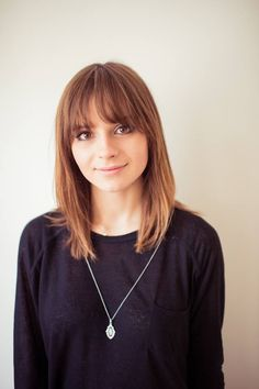 Gabrielle Aplin's hair is utterly perfect ♥ the choppy fringe is exactly what I'd go for