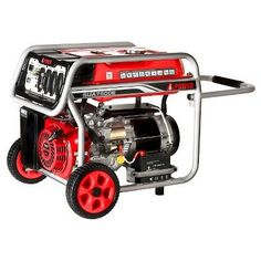 7000 Watt Gasoline Powered Portable Generator Electric Start - A-iPower