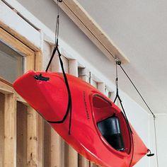 kayaks ...