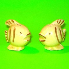 Striped Fish Salt & Pepper Shakers