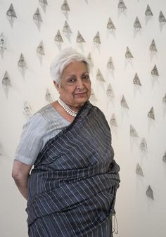 """Celebrating Indian Artist Zarina Hashmi's """"Paper Like Skin"""" Exhibition at the Art Institute of Chicago – Marcelle Ferron, Rose Wylie, Indian Artist, Art Institute Of Chicago, Art World, Creative Inspiration, Portrait, Celebrities, Photo Credit"""