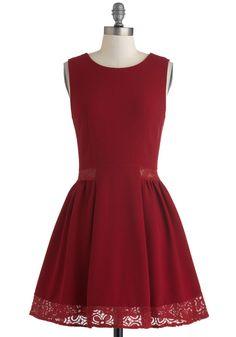 {Maraschino Cheery Dress}