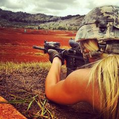 Women with Weapons and Wheels!