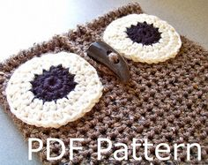Crochet Pattern Instant Download - Crochet Owl iPad Case Pattern, iPad Cover Pattern, iPad Sleeve Pattern, Easy Crochet Pattern