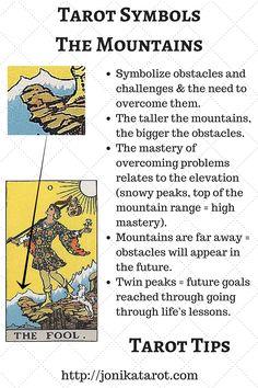 Tarot Symbol, The Mountains. by Jonika Tarot 🙂 Tarot Symbol, The Mountains. by Jonika Tarot 🙂 Celtic Cross Tarot, Tarot Interpretation, Rider Waite Tarot Cards, Tarot Cards For Beginners, Tarot Card Spreads, Tarot Astrology, Tarot Card Meanings, Card Reading, Book Of Shadows