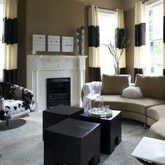 Monochrome lounge inspiration