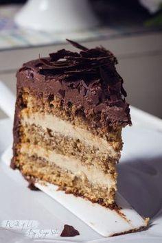 Tarta de Chocolate Cafe y Mascarpone Video Rezept Chocolate And Vanilla Cake, Choco Chocolate, Chocolate Desserts, Sweet Recipes, Cake Recipes, Dessert Recipes, Bolos Low Carb, Delicious Desserts, Yummy Food