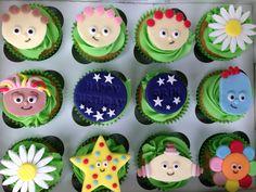 In the night garden cupcakes