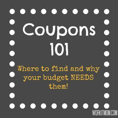 It's a no-brainer; coupons enable shoppers to save money. In this economy, saving money is a priority for most families, but still, many shy away from the use of coupons.