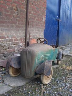 Oude trap auto