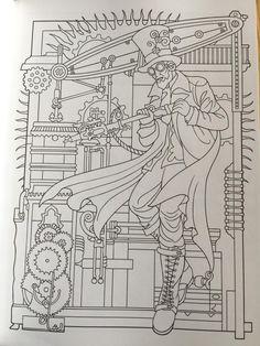Amazon Creative Haven Steampunk Designs Coloring Book Books 9780486499192 Marty Noble