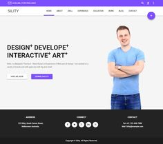 Sility is Premium full Responsive Resume HTML5 template. Retina Ready. Bootstrap 3 Framework. Google Map. Material Design. Test free demo at: http://www.responsivemiracle.com/cms/sility-premium-responsive-vcard-cv-resume-html5-template/