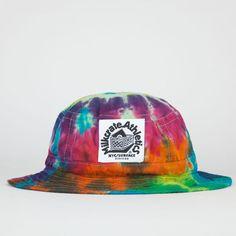 a2e07dc6856 MILKCRATE ATHLETICS Tie Dye Mens Bucket Hat - WHITE - MTCDB01