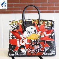 e023db972e71 Find All China Products On Sale from Gamystye bao bao Store on  Aliexpress.com - Gamystye 2018 New Cut Cat Women Canvas Tote Lock Hasp 18   large bag Design ...